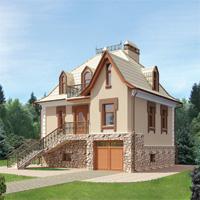 проект дома 35-50 общ. площадь 126,7м2