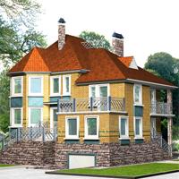 проект дома 35-61 общ. площадь 358,5м2