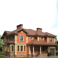 проект дома 35-89 общ. площадь 290,3 м2