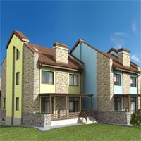 проект дома 35-90 общ. площадь 400м2