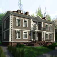 проект дома 35-80 общ. площадь 605,0м2
