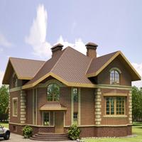 проект дома 35-86 общ. площадь 327,23м2