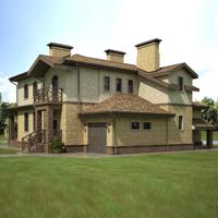 проект дома 35-88 общ. площадь 388,8м2