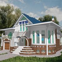 проект дома 36-19 общ. площадь 443,4м2