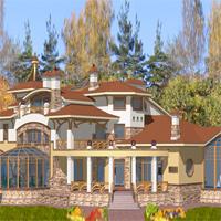 проект дома 36-21 общ. площадь 1102,8м2