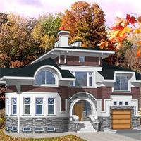 проект дома 36-17 общ. площадь 394,7м2