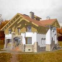 проект дома 36-22 общ. площадь 532,8м2