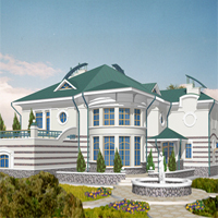 проект дома 36-23 общ. площадь 497м2