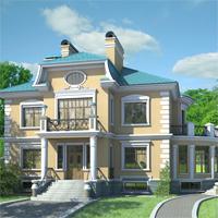проект дома 36-38 общ. площадь 608,2м2