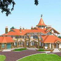 проект дома 36-10 общ. площадь 1245,6 м2