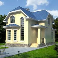 проект дома 49-09 общ. площадь 114 м2