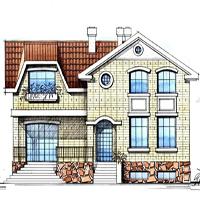 проект дома 48-07 общ. площадь 378,6 м2