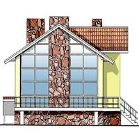 проект дома 48-08 общ. площадь 312,8 м2