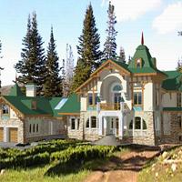 проект дома 36-07 общ. площадь 777,4 м2