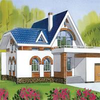 проект дома 48-55 общ. площадь 234,8 м2
