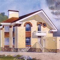 проект дома 48-77 общ. площадь 308,7 м2