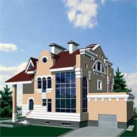 проект дома 48-72 общ. площадь 592,5 м2