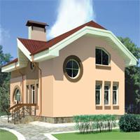 проект дома 35-68 общ. площадь 108,5 м2