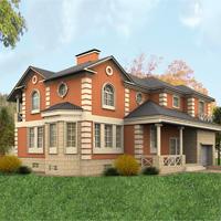 проект дома 48-93 общ. площадь 397 м2