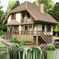 проект дома 48-94 общ. площадь 210 м2