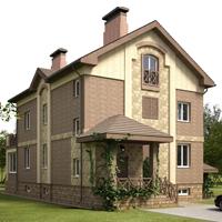 проект дома 48-95 общ. площадь 498 м2