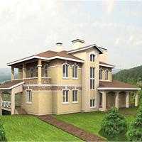 проект дома 48-96 общ. площадь 693 м2