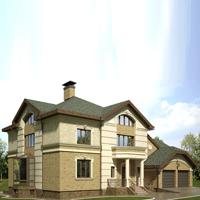 проект дома 48-00 общ. площадь 650,5 м2