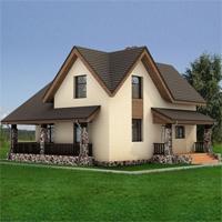проект дома 47-14 общ. площадь 125,8 м2