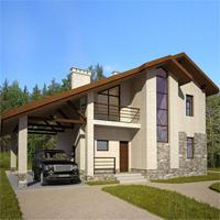 проект дома 47-25 общ. площадь 121,08 м2