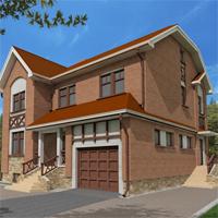 проект дома 47-08 общ. площадь 328,3 м2