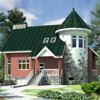 проект дома 47-19 общ. площадь 341,7 м2