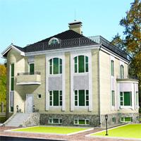 проект дома 35-58 общ. площадь 288,64 м2