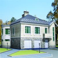 проект дома 35-59 общ. площадь 264,33 м2