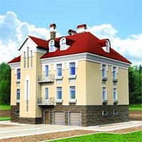 проект дома 35-60 общ. площадь 432,6 м2