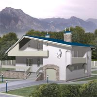 проект дома 47-32 общ. площадь 243,7 м2