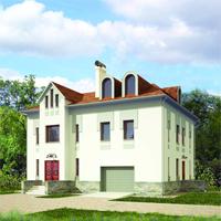 проект дома 47-36 общ. площадь 326,87 м2