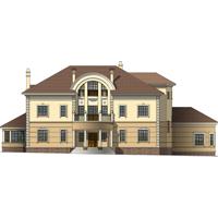 проект дома 47-84 общ. площадь 755,1 м2