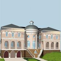 проект дома 47-87 общ. площадь 4500 м2