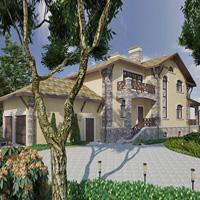 проект дома 47-49 общ. площадь 311,6 м2