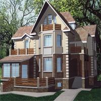 проект дома 47-75 общ. площадь 433,3 м2