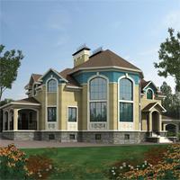 проект дома 47-83 общ. площадь 447,3 м2