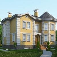 проект дома 46-04 общ. площадь 382,2 м2