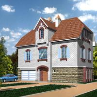 проект дома 46-12 общ. площадь 261 м2