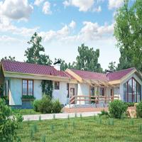 проект дома 46-29 общ. площадь 244,52м2