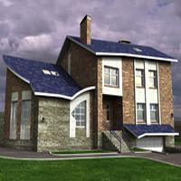 проект дома 46-43 общ. площадь 399,2м2