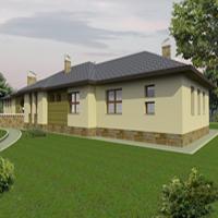 проект дома 46-53 общ. площадь 539,6м2