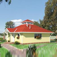 проект дома 46-84 общ. площадь 58,6 м2