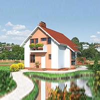 проект дома 46-87 общ. площадь 126,8 м2