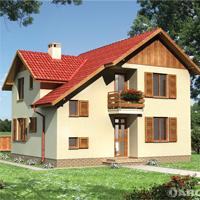 проект дома 55-50 общ. площадь 124,3 м2