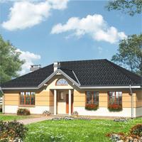 проект дома 55-83 общ. площадь 119,80м2